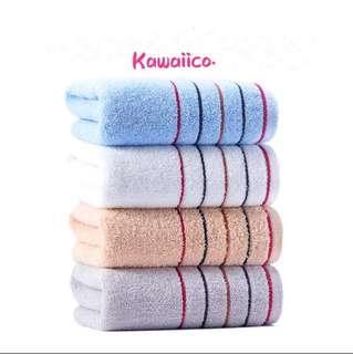 🚚 100% cotton face towel