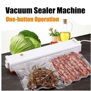 Household Food Vacuum Sealer Packing Machine Automatic Electric Film Food Sealer Vacuum Packer Seal