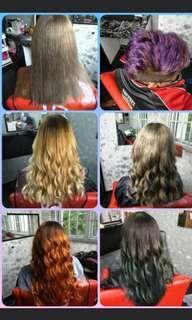 Home-based hair n nail service