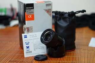 🚚 [二手] Sony Sonnar T* SEL24F18Z Zeiss 蔡司 E接環 ASP-C  大光圈人像鏡頭