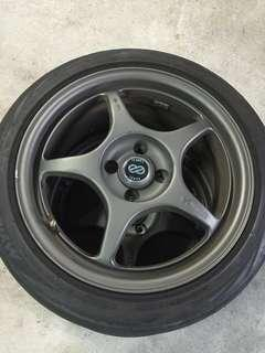 Replica 16' Enkei Rims Only for sale