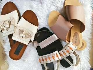 REPRICED✨Marikina Made Sandals - Take all 3 pairs