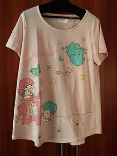 日版Little twin stars A-cut T-shirt