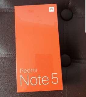 (SG Sealed) Xiaomi Redmi Note 5 32GB (Black)