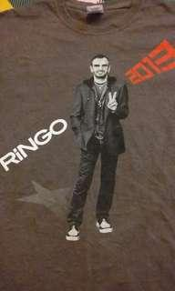 Ringo starr ex the beatles tee shirt(AL)