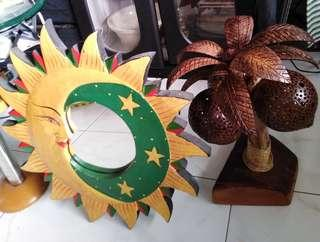 Both Christmas gifts mirror & coconut tree