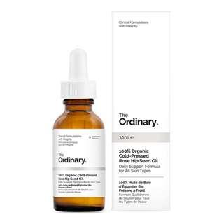 The Ordinary 100% Organic Cold-Pressed Rose Hip Oil