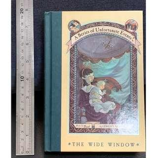 A Series of Unfortunate Events Book 3: The Wide Window (Hard Cover)