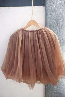 Tulle Mesh Tutu Skirt