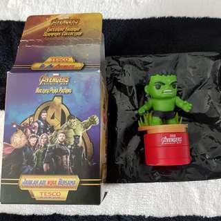 Tesco Marvel Avengers Hulk double sided stamp