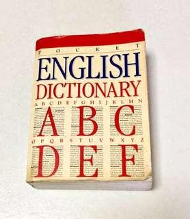 #Blessing Pocket English Dictionary