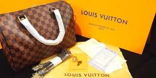 50% OFF AUTHENTIC Quality LV Bandoulier Speedy 30