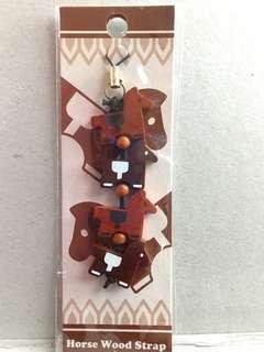 日本馬場 掛飾 木製