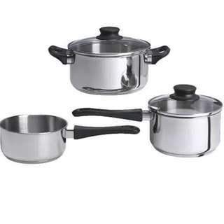 Ikea 5-pc Cookware Set