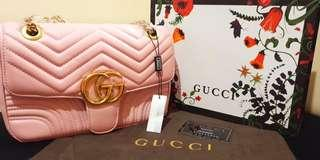 Sale 50% off Gucci Marmont in Blush Pink