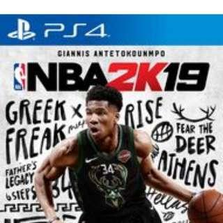 NBA 2K19 for PS4 [Read Description]