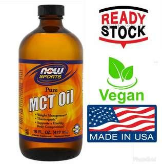 Now Foods (USA) 100% Pure MCT Oil 16 fl oz (473 ml)