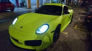 Porsche Cayman S for rent