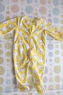 First Moments Duckie Sleepsuit