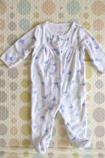 Carter's Butterfly Sleepsuit
