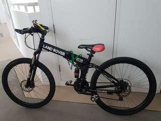 Land Rover Foldable Bike