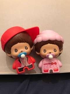 monchichi 擺設玩具