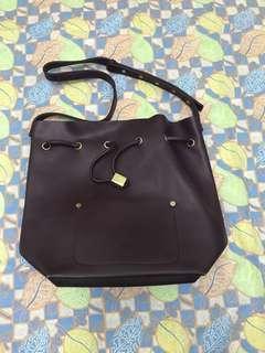 Sometime niko niko bucket Bag in dark purple