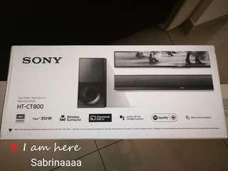 Sony 4K HDR Wireless/Bluetooth surround soundbar HT-CT800