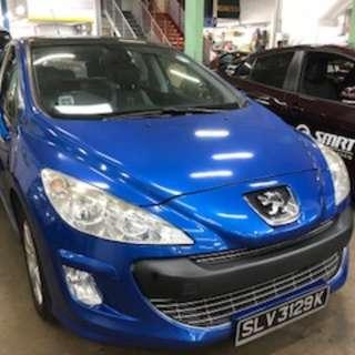 Peugeot 308 @$320 per week