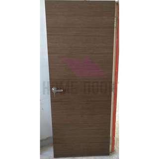 HDB, BTO Solid Veneer Room Door