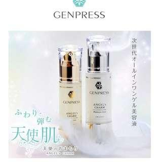 【包順豐站】Genpress日本頂級Bride天使肌蠶絲霜套裝 銀金各一