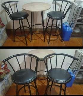 High Dining Set