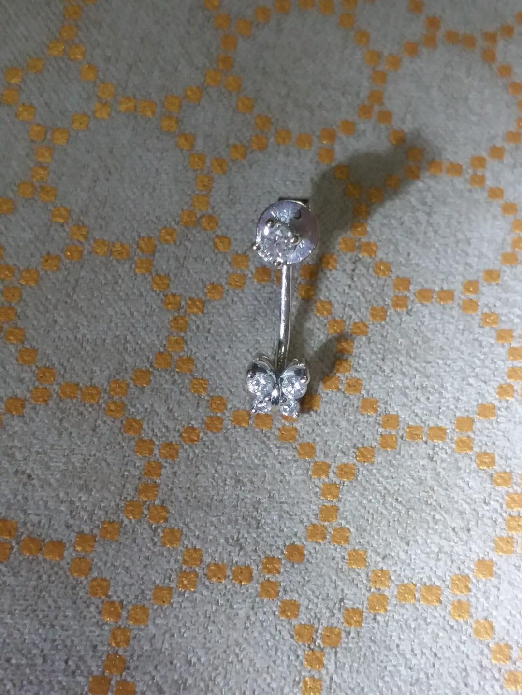 18K 白 Diamond earring 鑽石耳環