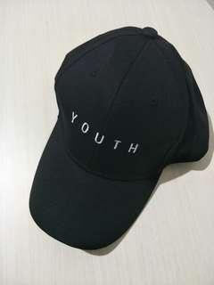 [ instocks ] black youth baseball caps
