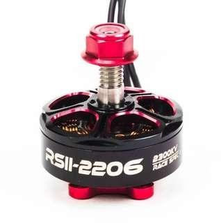 4pcs EMAX RSII 2206 2700KV 3-6S Brushless Motor Race Spec