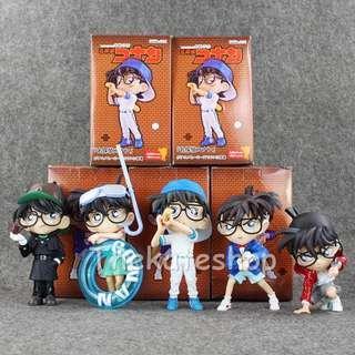 Detective Conan PVC figure set