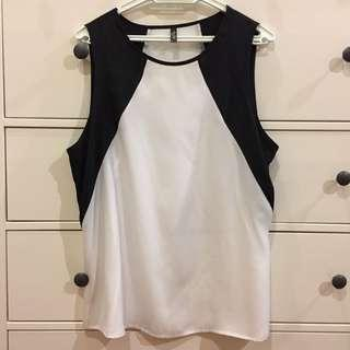 MISS SHOP Sleeveless Top  #H&M50