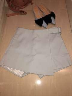 💯%New BabyBlue👶🏻BB藍OL👩💼斯文裙褲