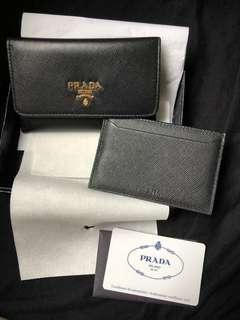 🈹️$999 ,黑色Prada card holder
