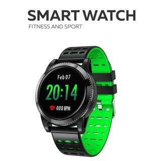全防水 兩條錶帶- WHATSAPP WECHAT FB IG 信息提示/來電顯示/遙控音樂/血壓,心率監測/卡路里計算 /計步器/睡眠監測 smart watch