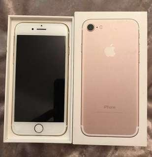 Unlocked iPhone 6S rose gold 32 gb perfect condition