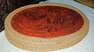 Wooden Rattan Placemat