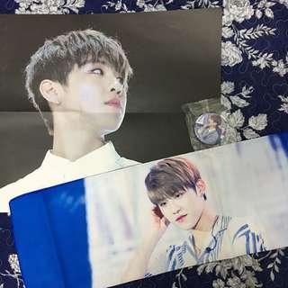 Park Woojin Slogan by Spin Out For Woojin