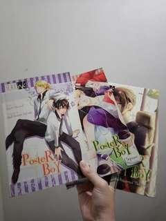 BL manga 3 volumes bundle