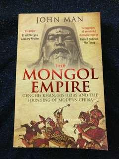 The Mongol Empire: Genghis Khan, His Heirs and the Founding of Modern China by John Man / History / Biography / Limited / Import Limited Book / Buku Langka / Biografi / Sejarah Dunia / Original /Asli