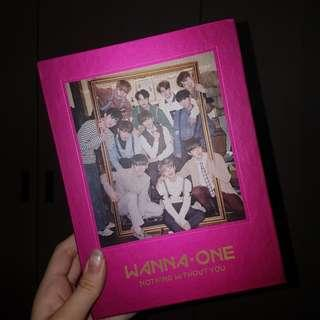 wanna one nothing without you pink album