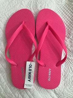 Old Navy Hot Pink Slippers