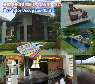 Ready for Occupancy Unit Beach House Single Detached in Danao City