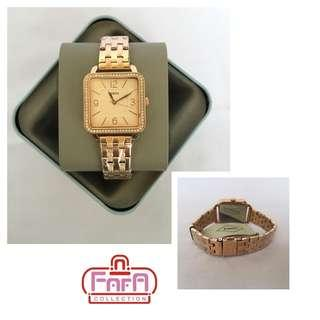 Fossil Shiloh Three-Hand Rose Gold Tone Stainless Steel Watch