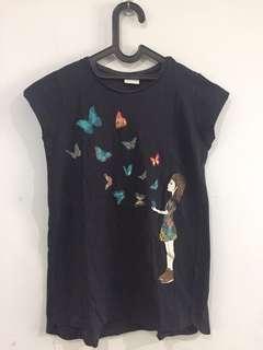 Zara Girls Black Shirt